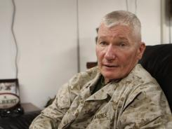 Marine Maj. Gen. John Toolan says U.S. troops are squeezing in on the Taliban.