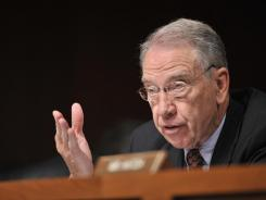 Sen.   Chuck Grassley,  R-Iowa,  is pressing the American Bar Association to factor student-loan default rates into its accreditation decisions.