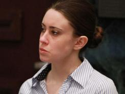 Casey Anthony listens to the judge's instructions to the jury in her murder trial on July 4.