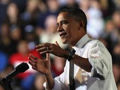 """We can't wait for Congress to do its job. So where they won't act, I will,"" President Obama told students at the University of Colorado-Denver."