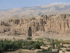 In 2001, the Afghan Taliban destroyed two colossal Buddhas cut into Bamiyan's sandstone cliffs.