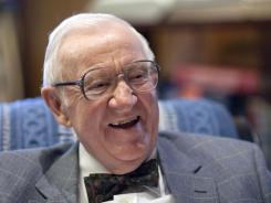 John Paul Stevens:  Retired Supreme Court justice is promoting his new memoir.