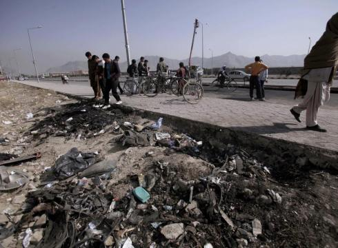 Bomb Kills 8 Afghans On Patrol In South