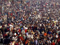 Global population is expected to reach 8 billion by 2025, according to the United Nations.