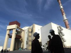 Reactor building at the Russian-built Bushehr nuclear power plant in southern Iran last year.
