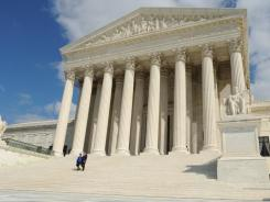 The U.S. Supreme Court is weighing a case on police use of GPS.