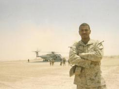 Chris Lawrence: Marine who lost his leg in Iraq now helps other veterans.