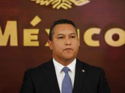 Mexican Interior Minister Francisco Blake Mora was killed Friday in a helicopter crash.