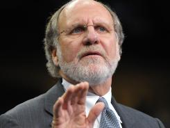 Corzine:  Resigned Nov. 4 and said he won't seek severance pay.