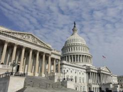 The House approved a  spending bill on Thursday that would avert a government shutdown.