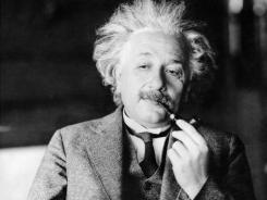 This undated file photo shows famed physicist Albert Einstein.