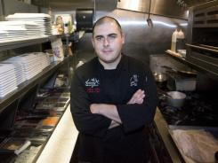 John Allen is executive chef at Aviary Cafe and Creperie in Springfield, Mo. He graduated from Victory Trade School on Nov. 4.