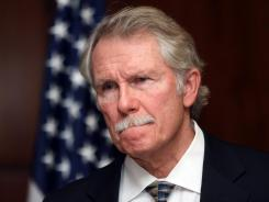 Oregon Gov. John Kitzhaber announces Tuesday that the execution of convicted killer Gary Haugen will not go on as scheduled next month and no more executions will happen while he is in office.
