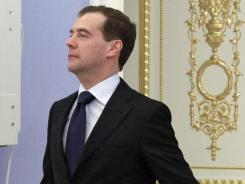 Russian President Dmitry Medvedev on Nov. 23.