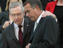 Capitol : House Speaker John Boehner, right, and Senate Majority Leader Harry Reid.