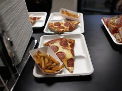 School lunch : The USDA wasn't trying to ban either fries or pizza from meals served nationally to kids.