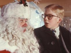 """A Christmas Story"": Jeff Gillen, left, and Peter Billingsley in the 1983 film."