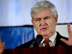 Former speaker Newt Gingrich says he took up golf after leaving the House of Representatives in 1999.