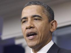 President Obama talks extending payroll tax cuts Monday, before heading to Kansas.
