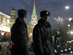 Moscow has already put about 50,000 police and 2,000 paramilitary troops on the streets, backed by a water cannon.