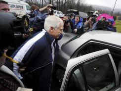 Former Penn State assistant football coach Jerry Sandusky was arrested Wednesday on new child sex abuse charges brought by two new accusers, according to authorities.