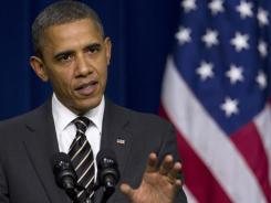 "President Obama says the payroll tax extension bill ""shouldn't be held hostage for any other issues that they (Republicans) may be concerned about."""