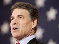 Texas Gov. Rick Perry's candidacy has been hurt by his immigration stance.