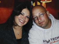 A 2009 family photograph  shows Tina Crouse and Deriek Crouse, who was shot and killed Thursday.