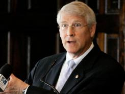 Sen. Roger Wicker, R-Miss., has proposed allowing military chaplains to refuse to marry same-sex couples.
