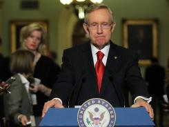 Senate Majority Leader Harry Reid says he wants a quick vote on the payroll tax bill.