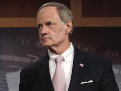 Sen. Tom Carper, D-Del., has raised concerns over the military paying millions of dollars on late container fees.