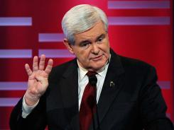 Gingrich:  Presidential candidate.