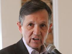 """There is an urgency"" to finding a treatment for vets, says Rep. Dennis  Kucinich."