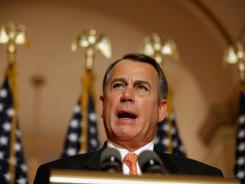 "House Speaker John Boehner says the short-term extension of the payroll tax cut ""creates even more uncertainty for job creators, it's just time for Congress to get its job done."""