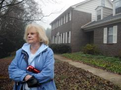 Norma O'Neal, 76, was forced to move out of her home in Chattanooga, Tenn., two years ago when a Christmas tree fire destroyed the inside of the house.