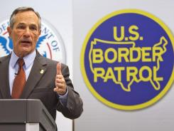 Customs and Border Protection Commissioner Alan Bersin, will be leaving his position.
