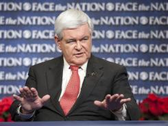 GOP presidential contender Newt Gingrich proposes having judges who issue unpopular decisions picked up by U.S. marshals and made to account to Congress and the executive branch for their rulings.