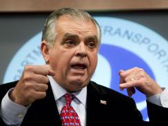 Ray LaHood is secretary of Transportation.