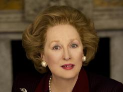"Meryl Streep as Margaret Thatcher in ""The Iron Lady."""