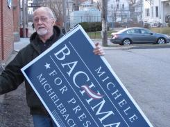 Iowa Republican Jim Knapp, who plans to support Rep. Michele Bachmann, says he's concerned about the national economy,
