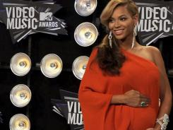 Beyonce's 'baby bump' made headlines earlier this year.