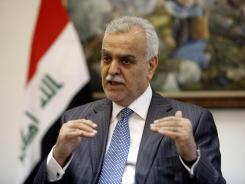 Iraqi Vice President Tariq al-Hashemi was indicted on charges of ordering his security detail to conduct political assassinations.