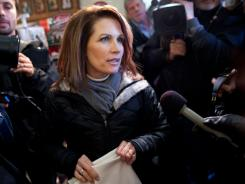 Michele Bachmann scored straight F's on The Secular Coalition for America's scorecard before bowing out of the GOP race after the Iowa caucuses.