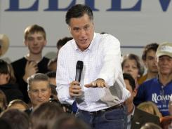 Romney: GOP front-runner won the Iowa caucuses by just eight votes Tuesday night.