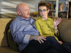 Rep. Gabrielle Giffords and her husband, Mark Kelly, plan to attend a vigil observing the anniversary of a shooting that left her severely injured and others dead.