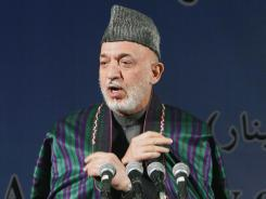 Afghan President Hamid Karzai wants the U.S. to hand over a detention center.