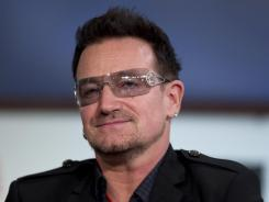 Bono: Used F-word at Golden Globes in '03.