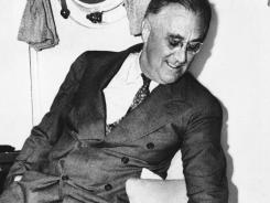 """President Franklin D. Roosevelt  would not depart on a (train) trip on the 13th,"""" said Thomas Fernsler, a University of Delaware mathematician who has studied the number enough to earn the moniker """"Dr. 13."""""""