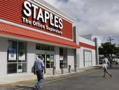 Success story:  Private equity investment in Staples paid off.