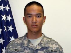 Pvt. Danny Chen, 19, of New York, died Oct. 3, 2011, in Kandahar, Afghanistan.